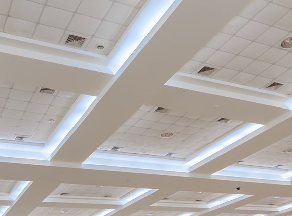 Ceiling System Image | Ceiling Systems | Exposed Grid Ceiling Systems & Concealed Grid Ceilings Page Featured Image