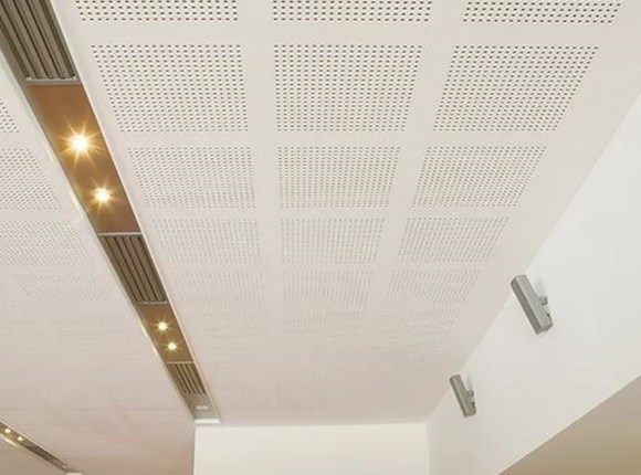 echostop perforated plasterboard