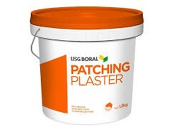 boral patching plaster 1.5kg bucket