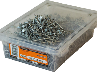 fibre cement nails 2.0mm x 30mm 5kg