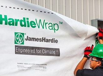 james hardie hardiewrap weather barrier 2.75 x 30m roll