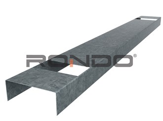 rondo 92mm x 3600mm nogging track 400mm centre
