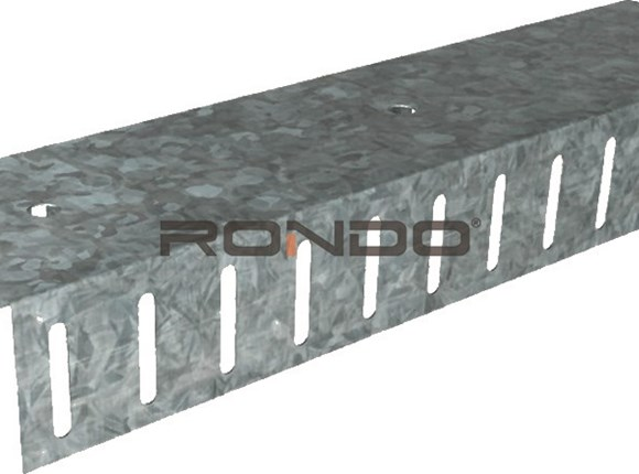 rondo 76mm x 3000mm 0.70bmt deflection head track