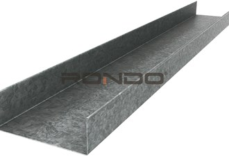 rondo 64mm x 3000mm 0.50 bmt steel track