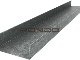 rondo 64mm x 3000mm 1.15bmt steel track
