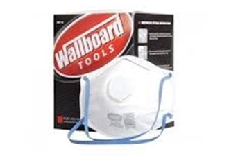 dust mask with valve wallboard - pk 12