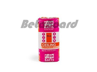 pink batts insulation r3.0 1160mm x 580mm 10.8m² ceiling insulation - 16 pack