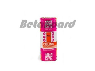 pink batts r4.0 1160mm x 430mm x 190mm 4.99m² ceiling insulation - 10 pack