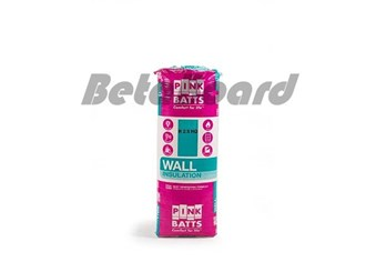 pink batts hd r2.5 1160mm x 430mm x 90mm 6.0m² insulation - 12 pack