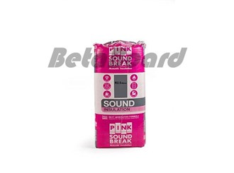 pink soundbreak batts r2.5 1160mm x 580mm x 90mm 5.39m² - 8 pack