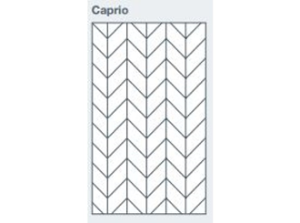2745x1200x9.5mm expression clad caprio pattern - made to order only