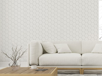 2720x1200x9mm expression mrmdf honeycomb pattern - made to order only