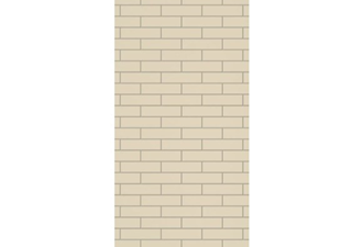 2720x1200x9mm expression mrmdf roman brick pattern - made to order only