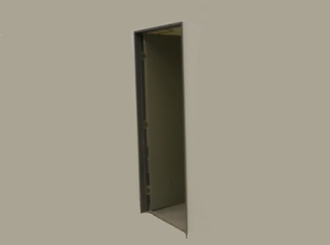 clear anodised ion aluminium door kit 2100x820 (2040 door) to suit  92mm wall and 13mm plasterboard