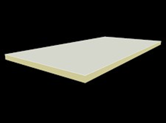 metecno pir board 25mm 1200mm x 2400mm r1.05 pack of 44 sheets