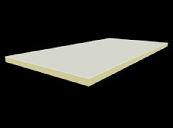 metecno pir board 60mm 1200mm x 2400mm r2.55 pack of 18 sheets