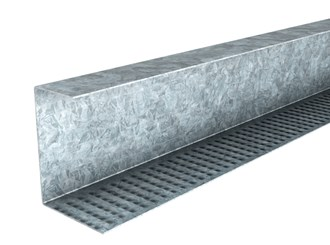 rondo xpress 3600mm perimeter channel for flat ceilings