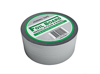 foilboard silver jointing tape 50m roll