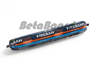 fireban one polyurethane fire rated sealant 600ml sausage