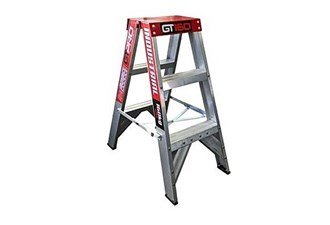 170kg 3 step double sided ladder