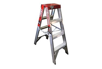 170kg 4 step double sided ladder