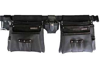 nail bag - big bag double (100d larger pockets)