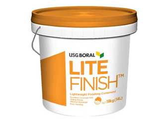 usg boral lite finish 18kg bucket