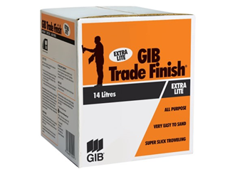 gib trade finish extralite 14ltr box