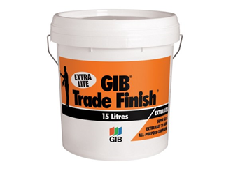 gib trade finish extralite 15ltr bucket