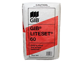 gib liteset 60 base 18kg bag currently out of stock