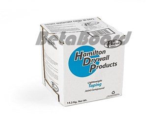 hamilton blue dot lightweight taping compound 13.3l box limited stock available