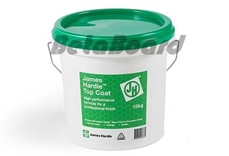james hardie topcoat 15kg bucket