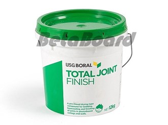 boral total joint finish 12kg bucket