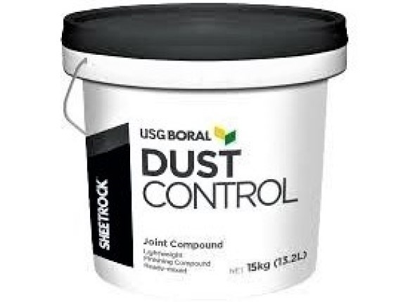usg sheetrock dust control compound 16.8l bucket