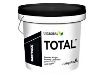 usg black lid sheetrock total finishing 26kg bucket