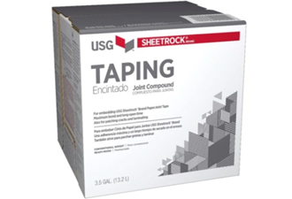 usg sheetrock taping compound 22kg box