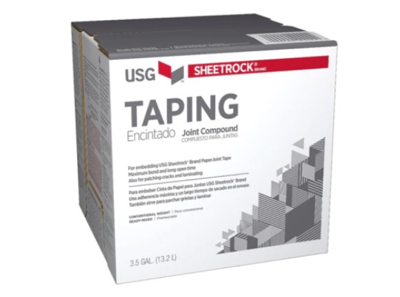usg sheetrock taping compound 22kg box limited stock available