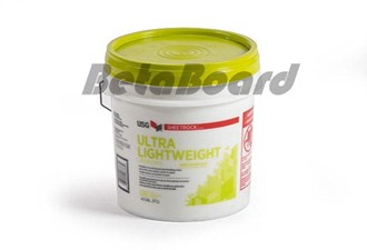 usg sheetrock ultra lightweight finishing 17kg bucket