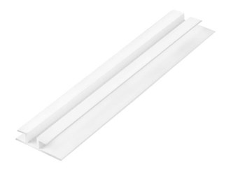 james hardie white pvc eaves joiner 3000mm x 4.5mm