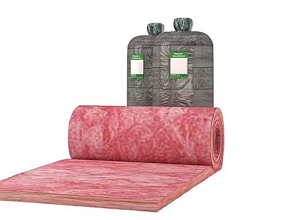 pink building blanket 20m x 1200mm x 75mm