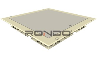 rondo mdf door 300 x 300mm feathered edge access panel