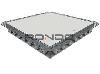 rondo mdf door 300 x 300mm set bead access panel