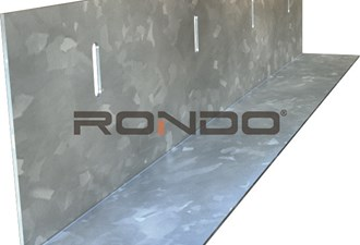 rondo 50mm x 50mm slotted angle 2400mm .75bmt