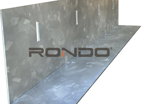 rondo 75mm x 50mm slotted angle 2400mm 1.15bmt