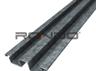 rondo 13mm recessed furring channel 6000mm
