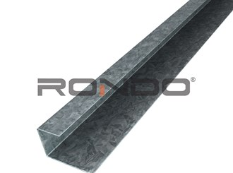 rondo furring channel wall track 3000mm to suit 16mm furring channel
