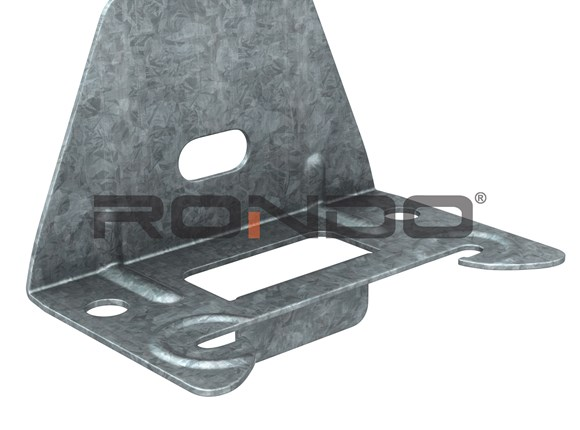 rondo furring channel to timber or steel membrane insulation clip
