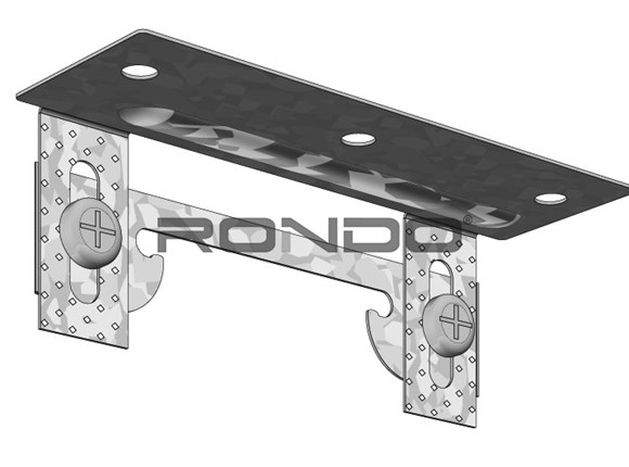 rondo furring channel infinity clip 30mm