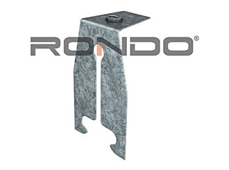 rondo suspension clip with m6 threaded nut to suit top cross rail
