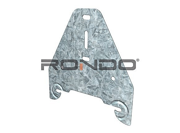 rondo direct fix clip for 155 furring channel to timber